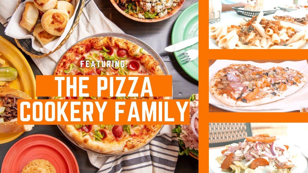 "HEART-SHAPED PIZZA at ""The Pizza Cookery"" (Family Restaurant Spotlight)"