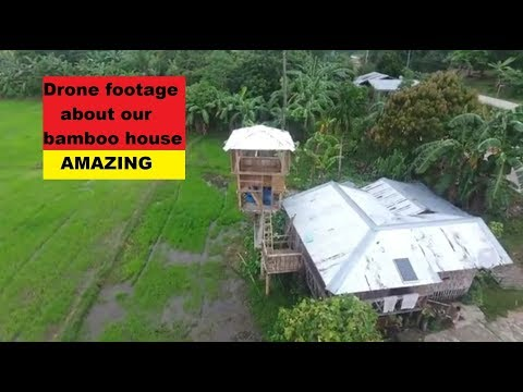Philippines:we extended the bamboo house with a outpost  phantom4 drone footage