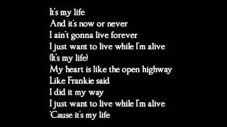 Bon Jovi - Its my life - lyrics
