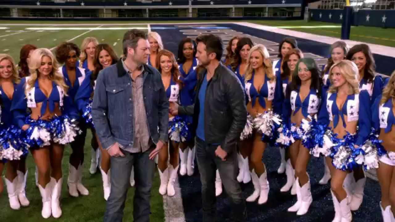 07a2bc7e414ca Dallas Cowboy Cheerleaders - 50th ACM Awards - YouTube