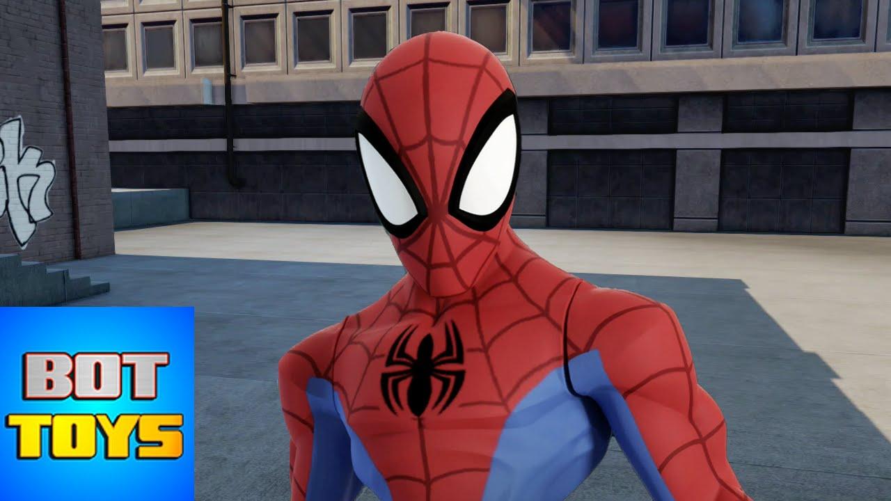 SpiderMan  Cartoon Heroes  Disney Infinity 20 Gameplay No 9