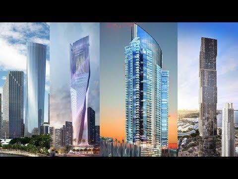 9 Future Skyscrapers That Will Change Miami's Skyline For 2025: Epic Transformation Of This US City