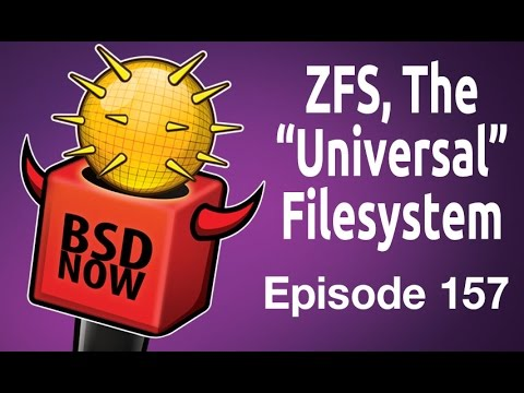 """ZFS, The """"Universal"""" Filesystem 
