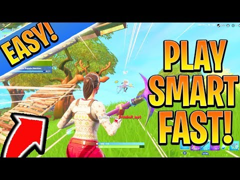Fortnite Tips - How to Play SMARTER! Ps4/Xbox Fortnite BEST Tips and Tricks  (How to Win in Fortnite)