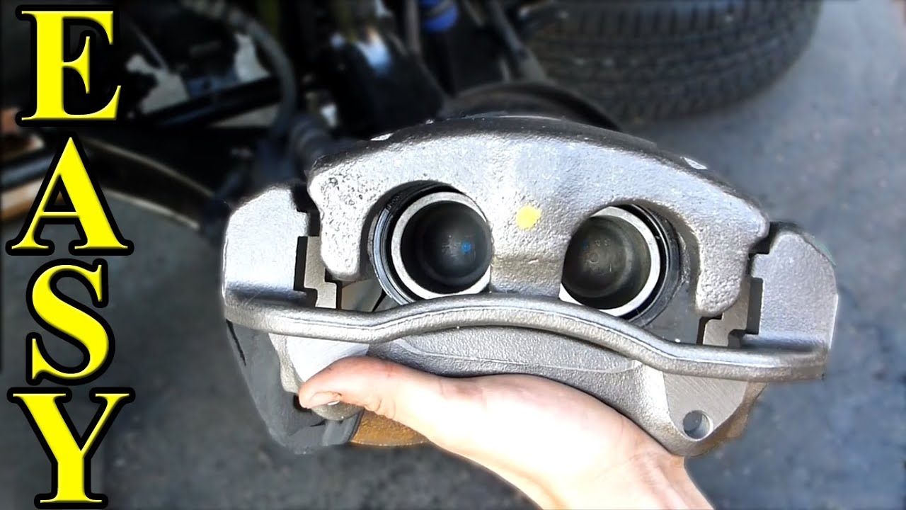 medium resolution of how to replace a brake caliper