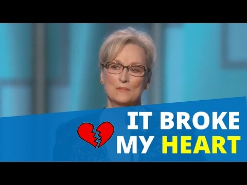 Thumbnail: FUNNY Meryl Streep Calls Out Donald Trump At Golden Globes 2017 And Cries