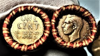 UNBELIEVABLE PENNIES FOUND (DATES REVEALED!) | COIN ROLL HUNTING PENNIES BEST ENDERS EVER!