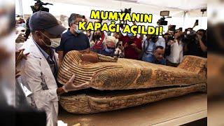 2.500 Yıl Önce Mühürlenen Mumya İlk Kez Açıldı...