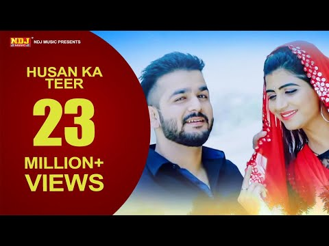 Husan Ka Teer | Mohit Sharma | Mr. Guru | Sonika Singh | New Haryanvi Song 2018 | NDJ Film Official