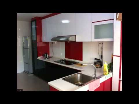 HDB 3 Room Resale Flat Renovation - Before & After - YouTube