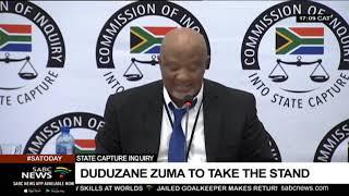 Duduzane Zuma takes the stand at Zondo Commission on Monday