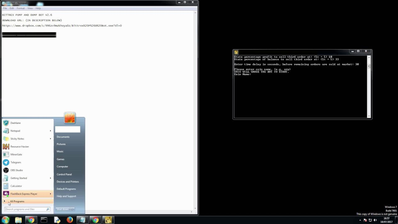 NewsFlash - Bittrex, Cryptopia i mój nowy pomysł pomocy ludziom