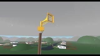 Roblox Tornado Siren: Episode 1 - Jailbar Thunderbolt 1000