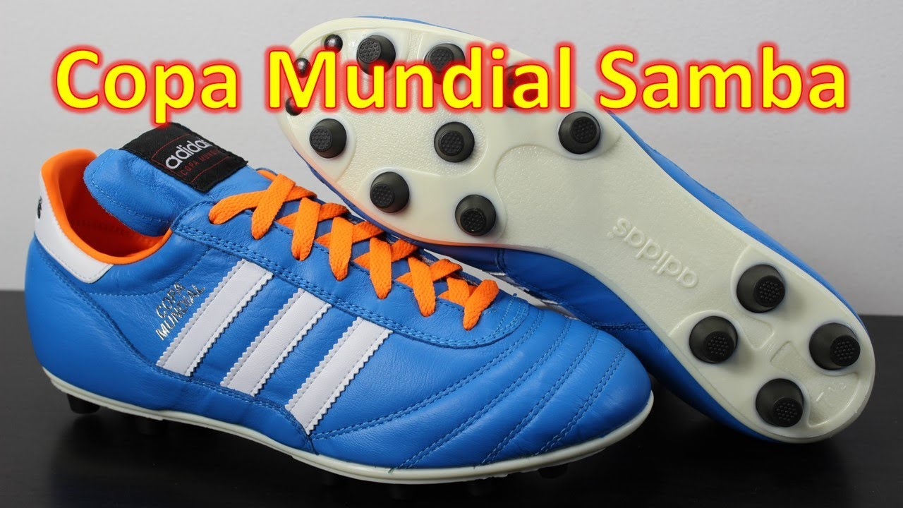 Adidas Copa Mundial Samba Solar Blue - Unboxing + On Feet