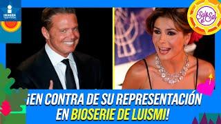 ¡Paty Manterola en contra de su representación en bioserie de Luismi! | Sale el Sol