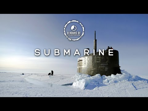 SUBMARINE SOUNDS EFFECTS, SONAR SOUND, U BOAT SONAR PING, SLEEP SOUNDS & WHITE NOISE FOR 8 HOURS
