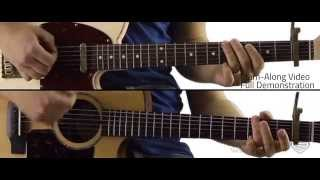 Small Town Saturday Night - Guitar Lesson and Tutorial - Hal Ketchum