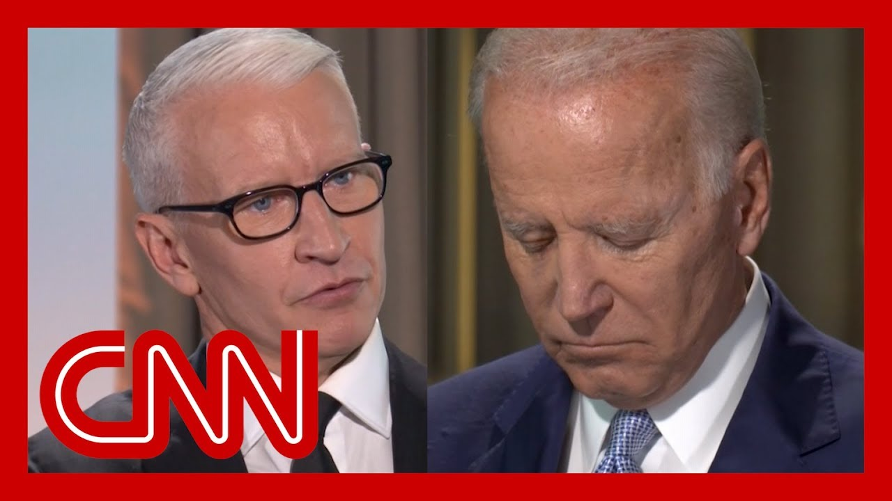 Biden gets personal after Anderson Cooper's question - YouTube