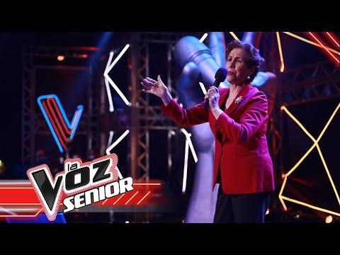 Aurorita Peña canta 'No me toquen ese vals' |LaVozSeniorColombia 2021