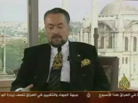 AN INTERVIEW WITH MR ADNAN OKTAR BY AL JAZEERA TV 1OF5