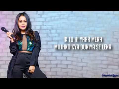 Tu Hi Yaar Mera  Song  - Pati Patni Aur Woh  Arijit Singh Neha Kakkar