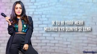 Download song Tu Hi Yaar Mera Full Song Lyrics - Pati Patni Aur Woh | Arijit Singh, Neha Kakkar