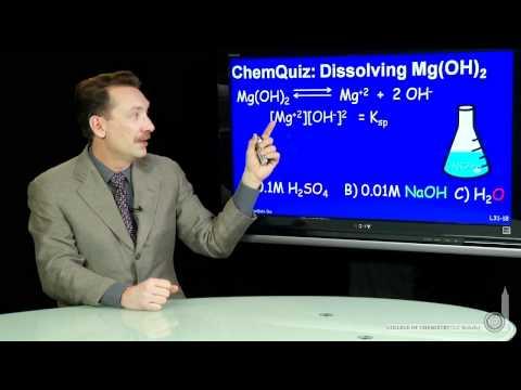Dissolving Mg(OH)2  (Quiz)