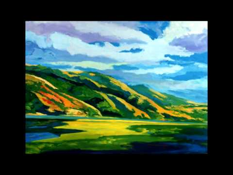 Landscape Paintings by Edward L. Rubin