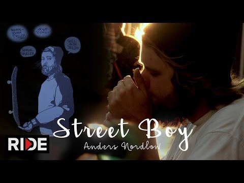 "Incredibly Unique Skater Anders Nordlow ""Street Boy"" - PUSH"
