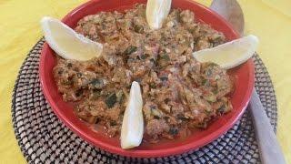 Cuisine Tunisienne - Aajlouk de courgette