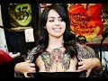 Beautiful Body Art Sexy Girls In SF Bay Area Tattoo Convention. Video Not Just Photos