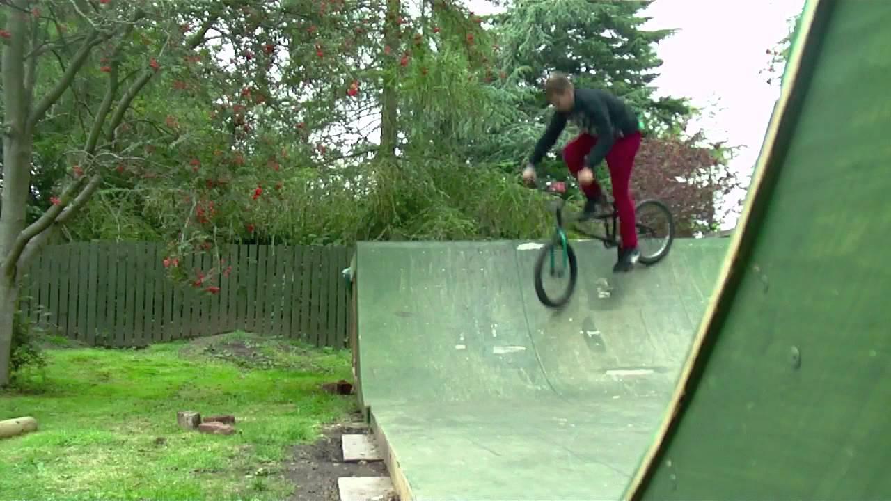 Backyard Skatepark Bmx : Bmx  Backyard skatepark edit 2012  YouTube