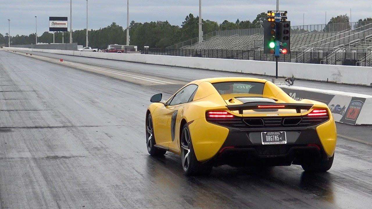 mclaren 650s 10 3 137 mph drag racing 1 4 mile 0 60 mph in 2 61