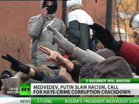 Tandem Takes Stand: Medvedev, Putin slam racism, call for hate crime crackdown