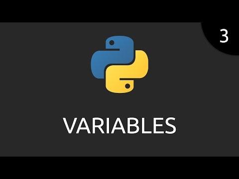 Python #3 - variables