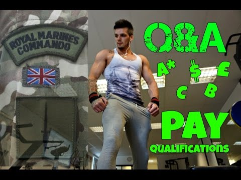 Joining The Royal Marine Commandos   Qualifications & Pay