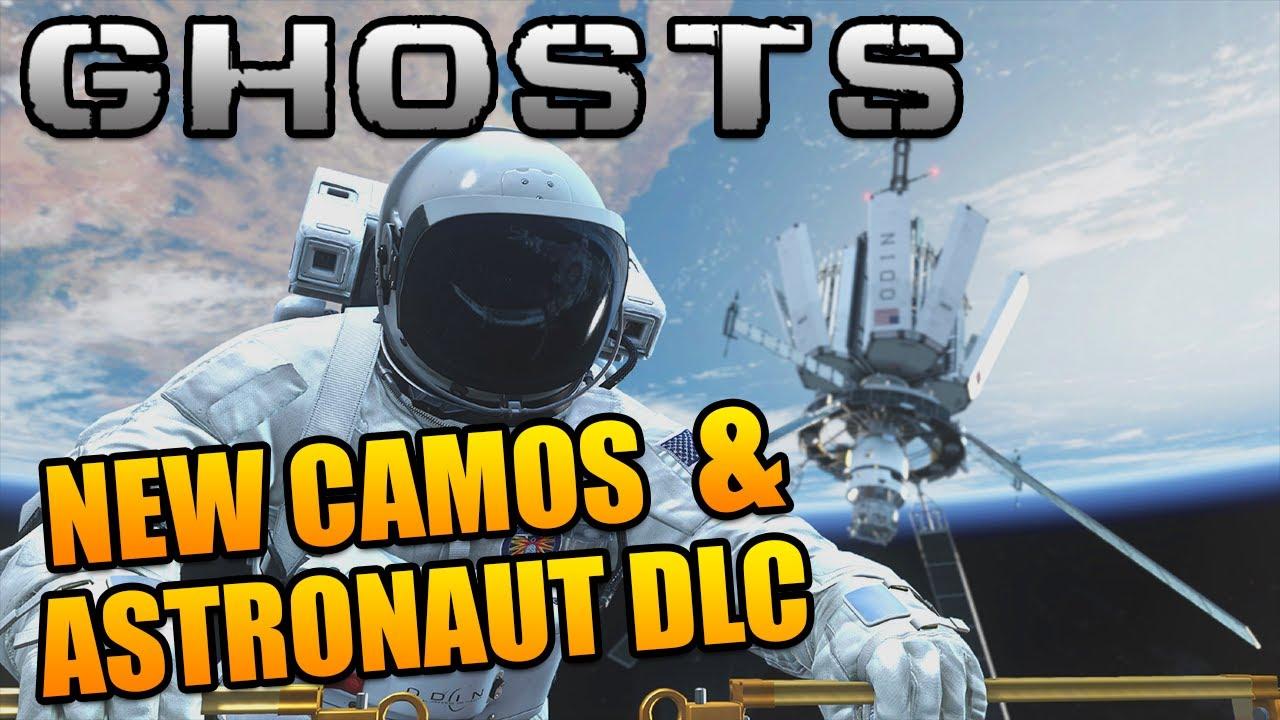 Call of Duty Ghosts NEW Camos Astronaut DLC Spectrum