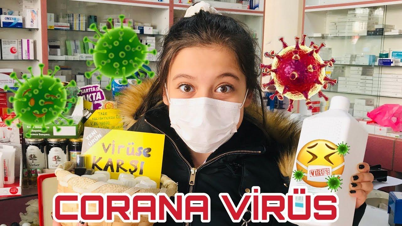 Corona Virüs'den Nasıl Korunuyoruz Aldığımız Önlemler !! CORONA VİRÜS Market Alışverişim