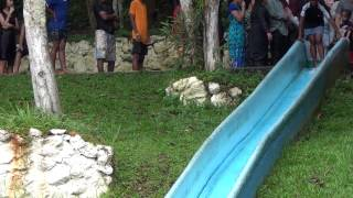 Ig. obra da restauração em olaria e rocinha - batismo nas águas em tinguá 29/04/2012