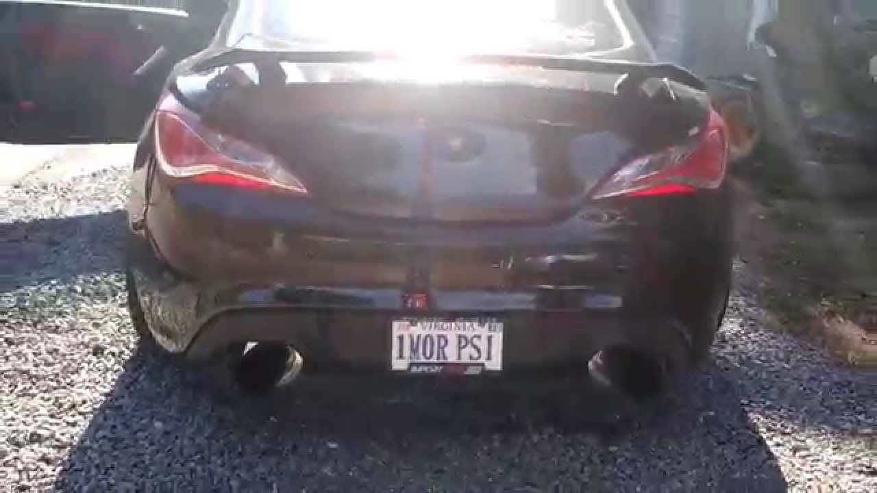 Genesis coupe 2 0t turboxs rsd cat back exhaust