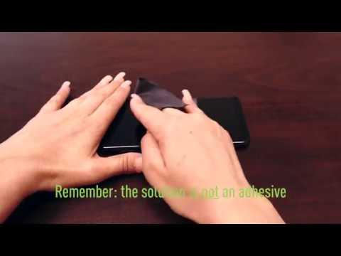 IQ Shield - Galaxy S8/S8 Plus Screen Protector Installation Video