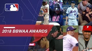 The BBWAA Awards showcased the best of MLB in 2018