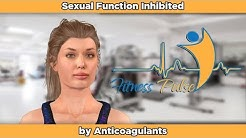 Sexual Function Inhibited by Anticoagulants