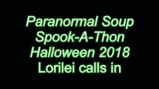 Paranormal Soup Spook-A-Thon Lorilei calls in