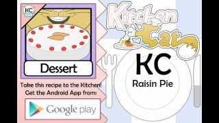 Raisin Pie - Kitchen Cat