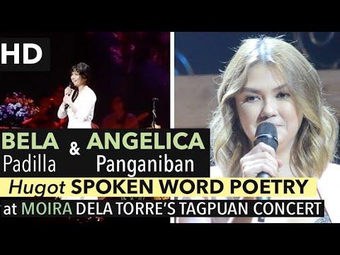 [HD] ANGELICA and BELA perform HUGOT Spoken Word at MOIRA Dela Torre's TAGPUAN Concert