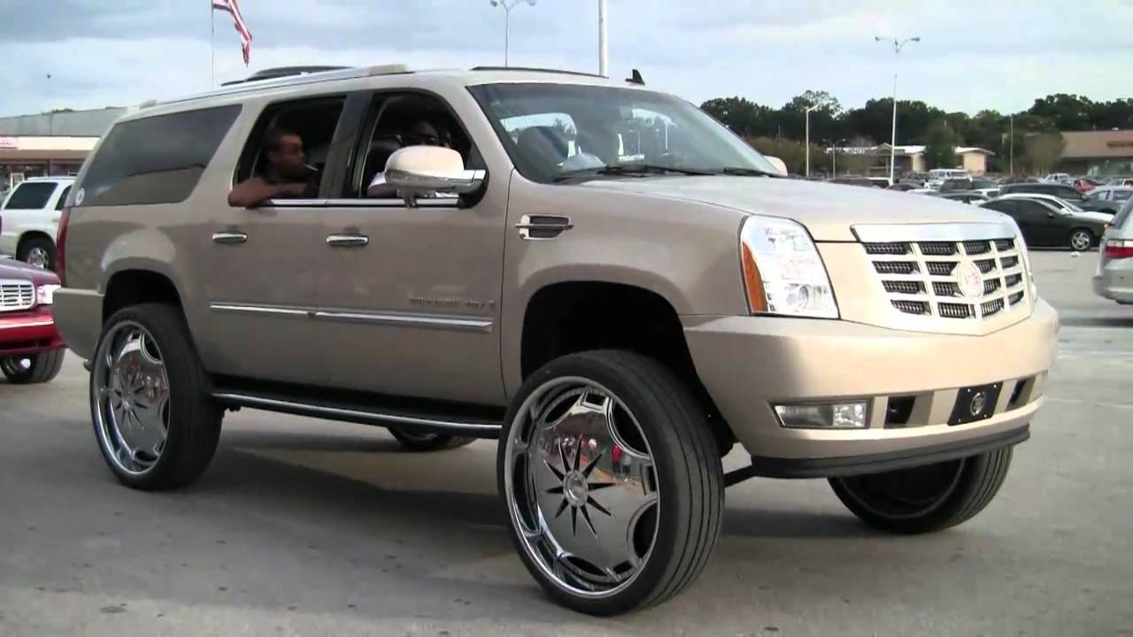 Escalade On 30 Inch Rims Florida Classic 2010 Series