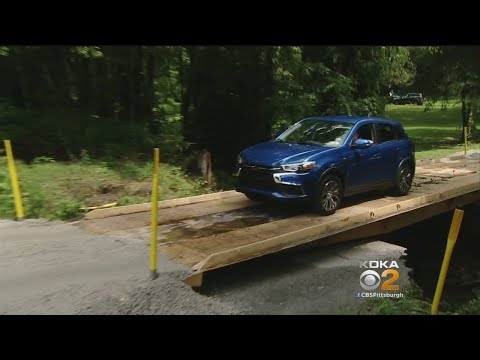 Crews Build Temporary Bridge In 5 Hours In Sewickley Township