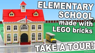 Custom Build - Lego Elementary School [cc]