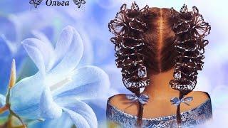 Ажурные (кружевные)хвосты (плетение скат)hairstyle for girls Frisur für Mädchen Kapralova Olga(Подписывайтесь на мой канал и получайте уведомления о моих новых видео уроках! http://www.youtube.com/channel/UCdWRM-FJOzpHjswy196..., 2015-10-10T23:25:25.000Z)